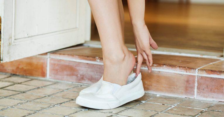 Hvorfor sprukne hæler?